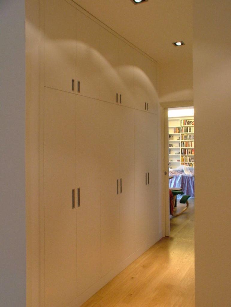 armadio a muro mobile artigianale Gamma Arredamenti Snc Macerata