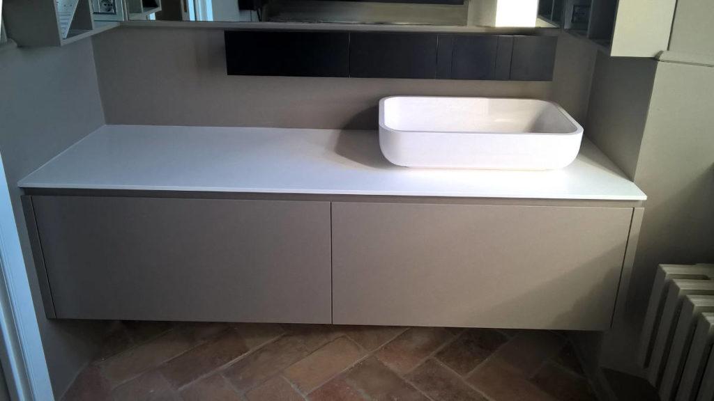 Bagno mobile moderno artigianale Gamma Arredamenti Snc Macerata
