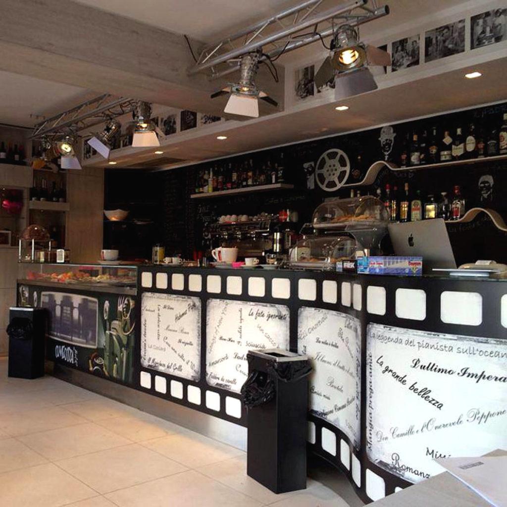 Bar mobile artigianale Gamma Arredamenti Snc Macerata