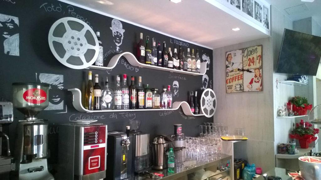 Mensole bar mobile artigianale Gamma Arredamenti Snc Macerata
