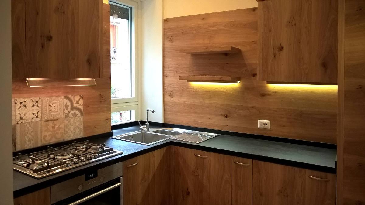 Cucina moderna Roma mobili artigianali Gamma Arredamenti Snc Macerata