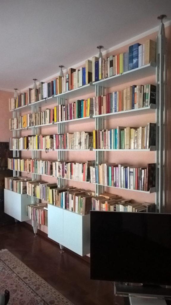 Libreria mobile artigianale Gamma Arredamenti Snc Macerata